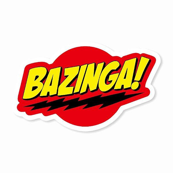 Bazinga! Sticker