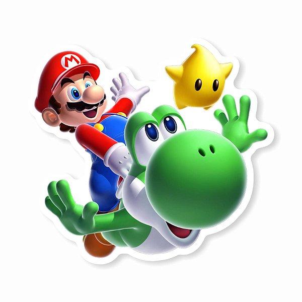 Mario Yoshi Sticker