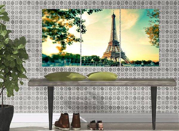 KIT PLACAS DECORATIVAS PARIS