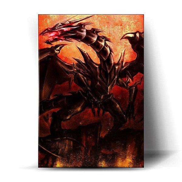 Dragão Negro de Olhos Vermelhos