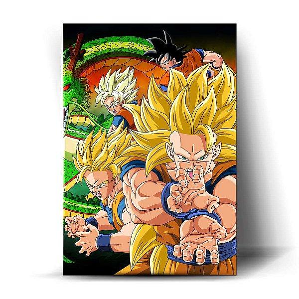 Goku Super Sayajin Art