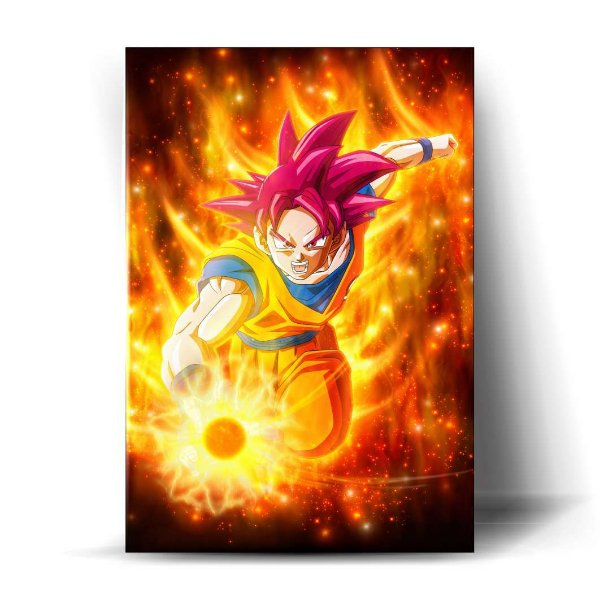 Goku Super Sayajin God
