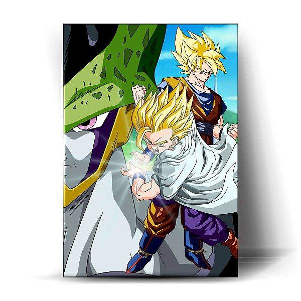 Gohan e Goku - Saga Cell