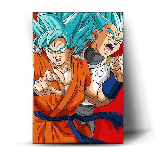 Goku e Vegeta Blue