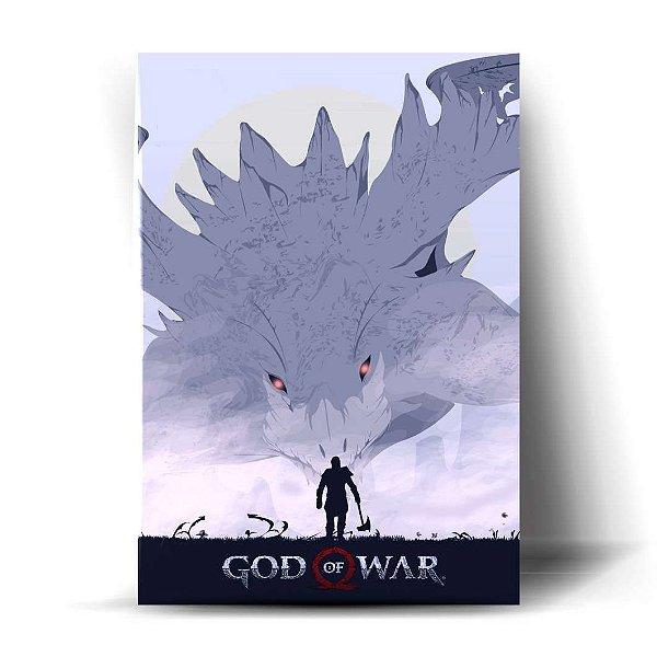 Kratos - God of War Art