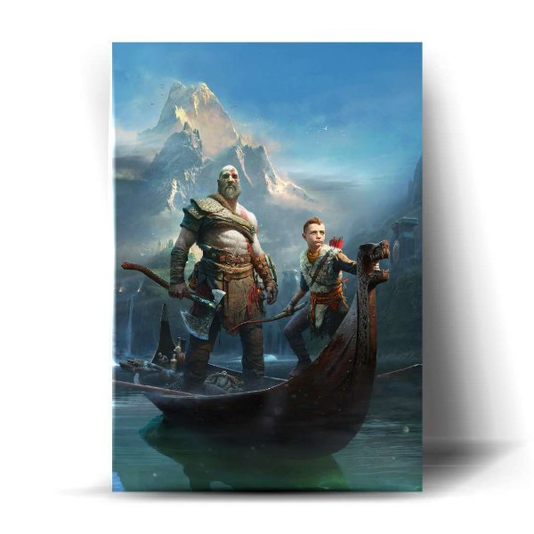 Kratos e Atreus - God of War 4