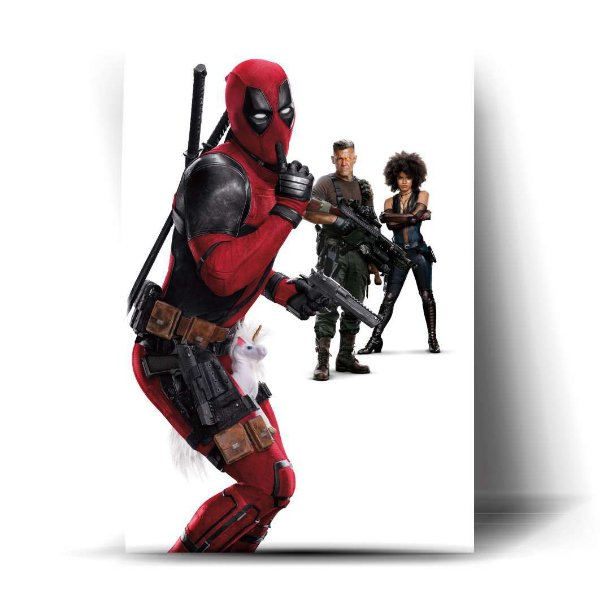 DEADPOOL, CABLE AND DOMINÓ