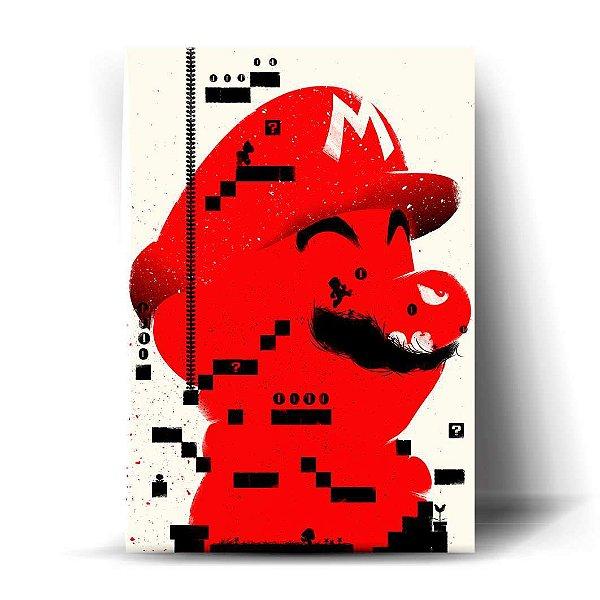 Mario Minimalista Art