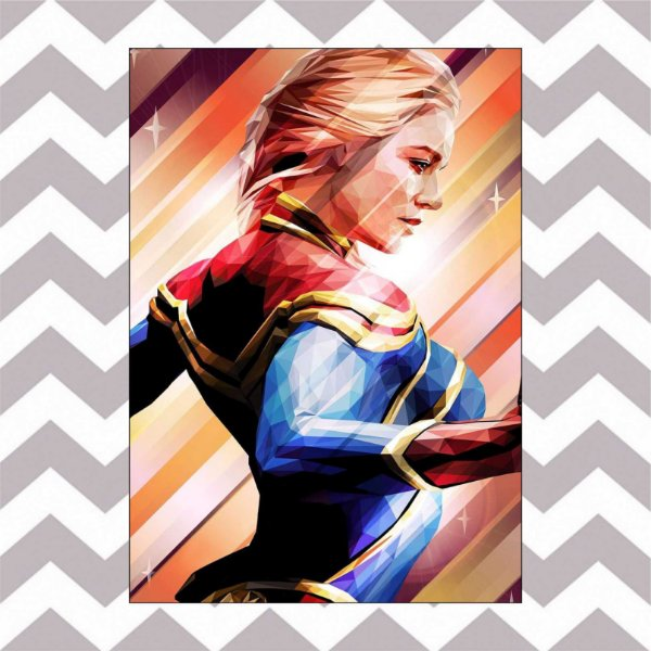 ART CAPTAIN MARVEL