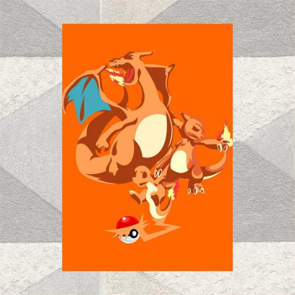 EVOLUTION CHARIZARD