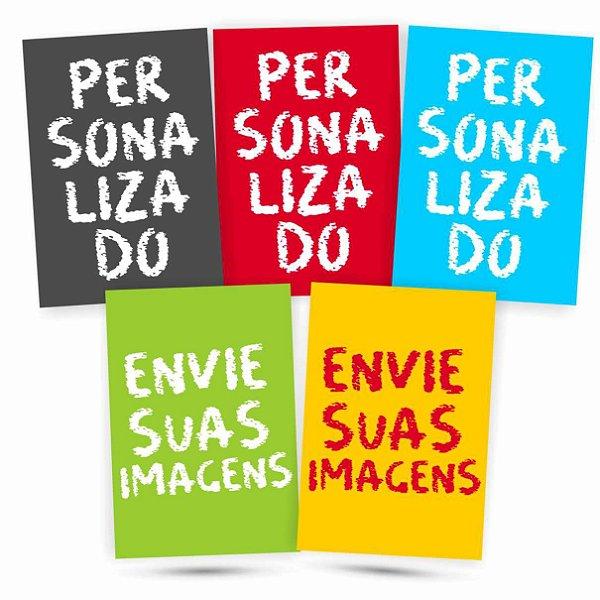 5 Placas Personalizadas - Envie Suas Fotos