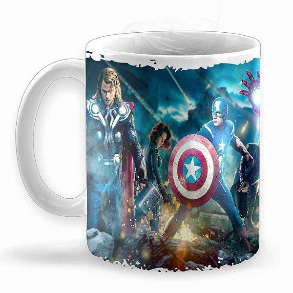 Caneca Avengers