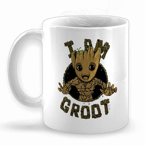 I Am Groot Caneca