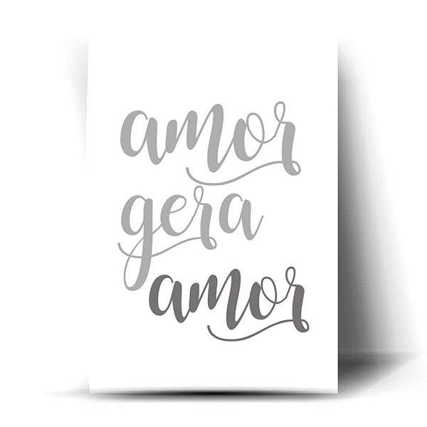 Amor Gera Amor