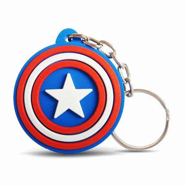 Chaveiro Escudo Capitão América