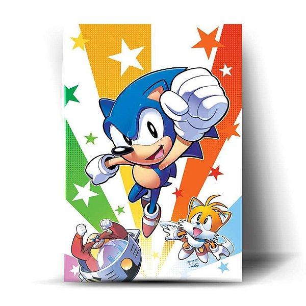 Sonic, Tails e Robotnic