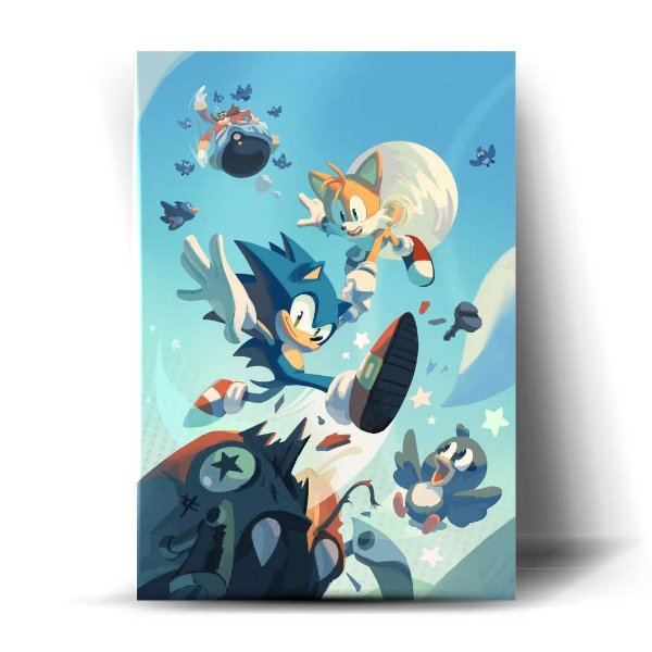 Sonic e Tails Fase
