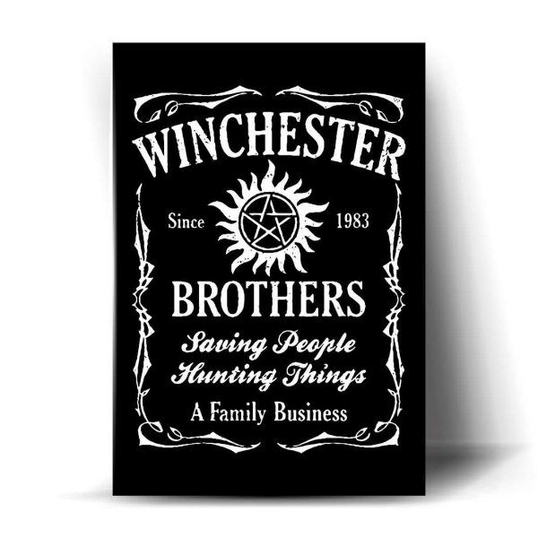 Winchester Brothers Art