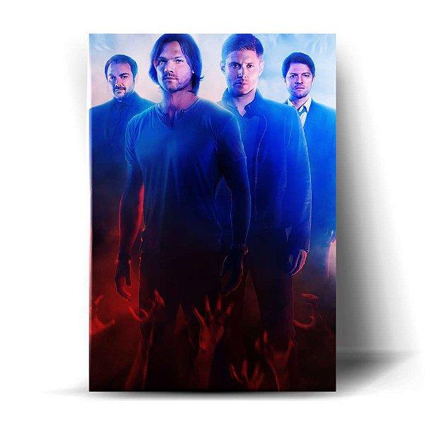 Crowley / Sam / Dean / Castiel
