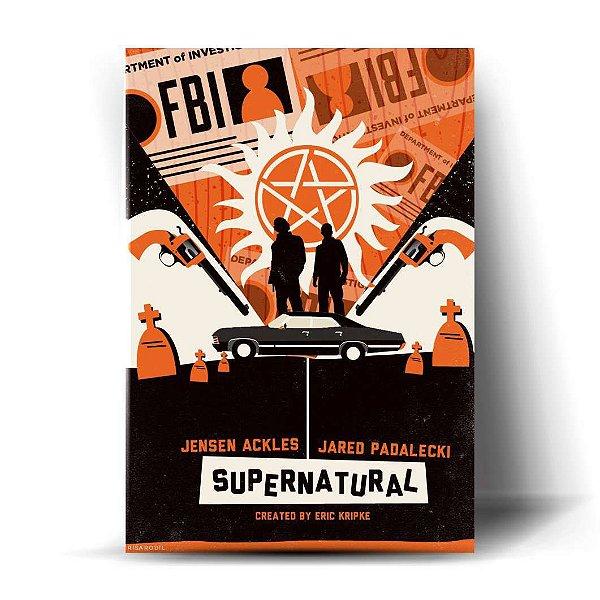 Supernatural Art - Sam e Dean