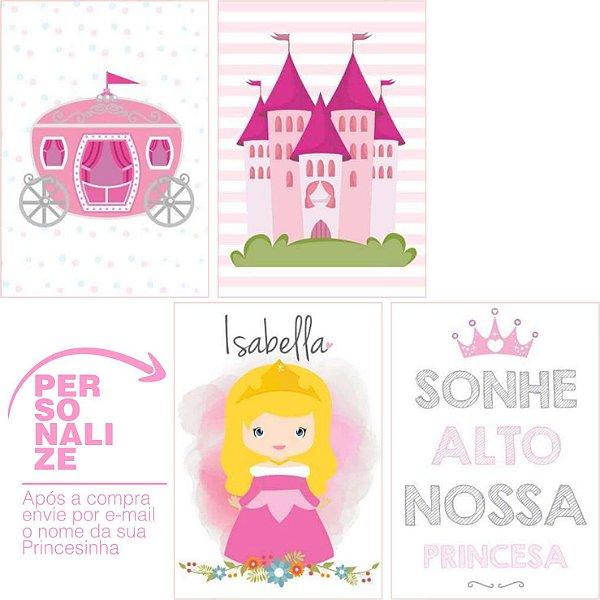 Kit Castelo de Princesa