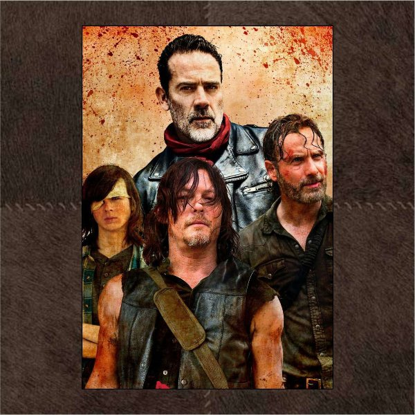 Negam / Carl / Rick / Daryl