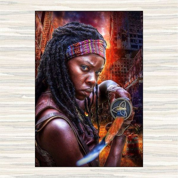Michonne Art