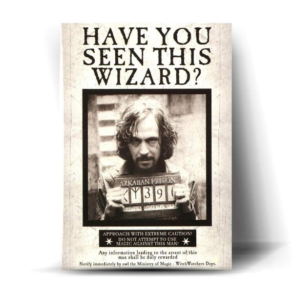 Have You Seen This Wizard?
