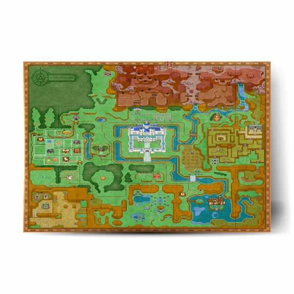Hyrule Map A Link Between Worlds