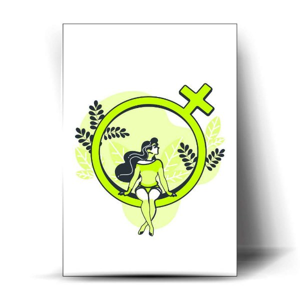 Símbolo mulher