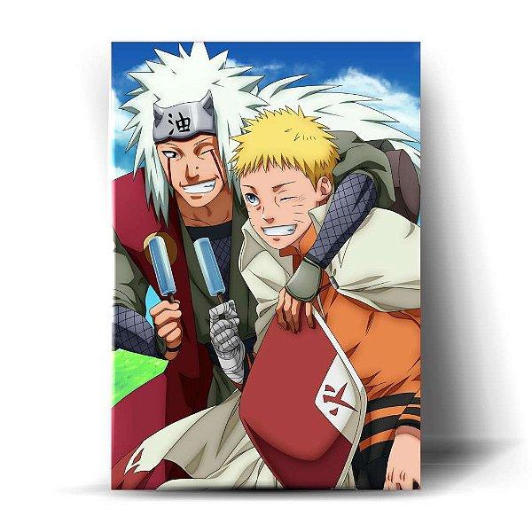 Naruto Hokage e Jiraiya