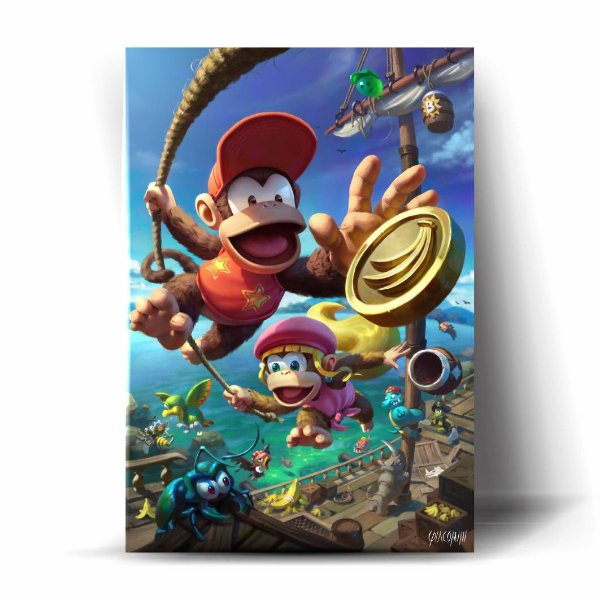 Diddy e Dixie Kong