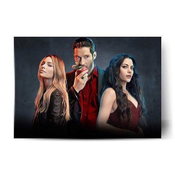 Chloe, Lucifer e Eva