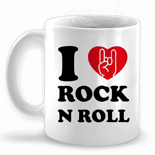 I Love Rock N Roll - Caneca