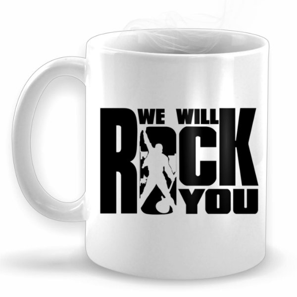 We Will Rock You - Caneca