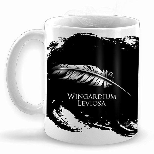 Wingardium Leviosa - Caneca