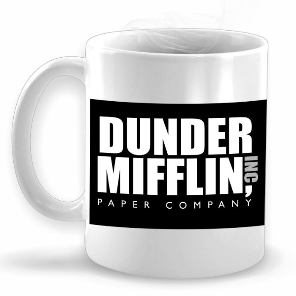 Dunder Mifflin Paper Company - The Office - Caneca