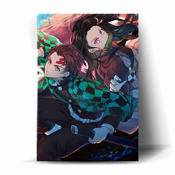 Tanjiro e Nezuko - Demon Slayer: Kimetsu no Yaiba