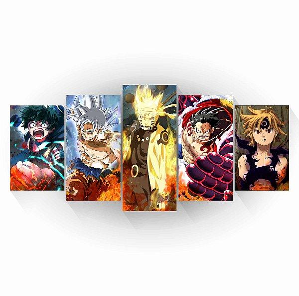 Animes - Mosaico