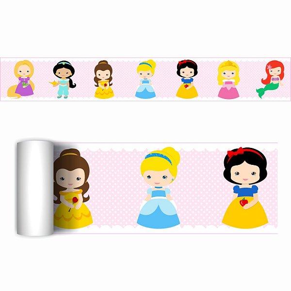 Faixa Decorativa Quarto Princesas Cute