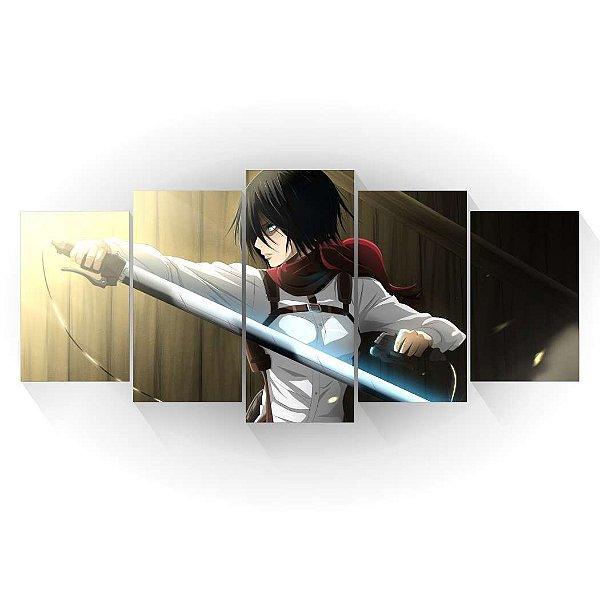 Mikasa - Shingeki no Kyojin - Mosaico