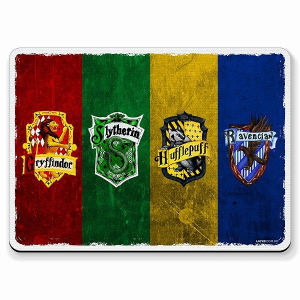 Casas Hogwarts - Mouse Pad