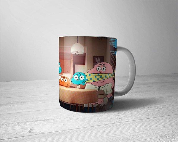 Caneca Personalizada O Incrível Mundo de Gumball