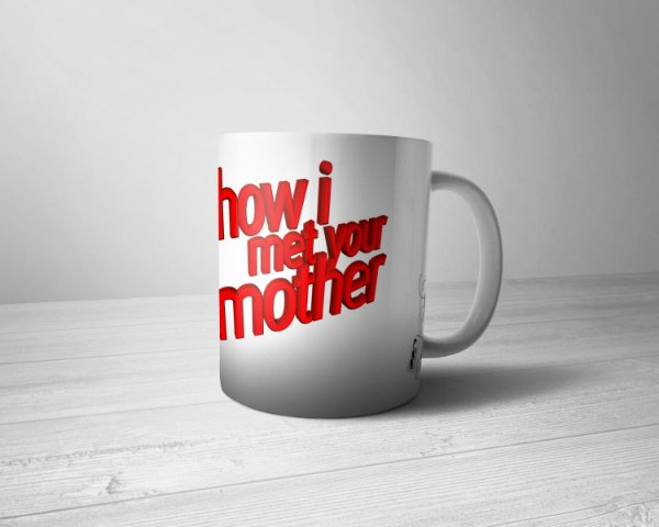 Caneca Personalizada Hot I Met Your Mother