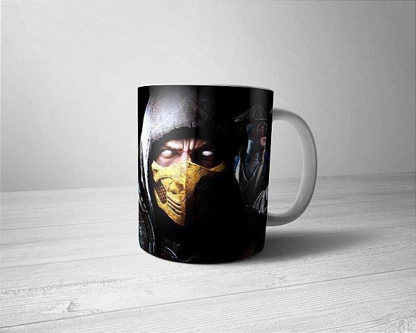 Caneca Personalizada Mortal Kombat
