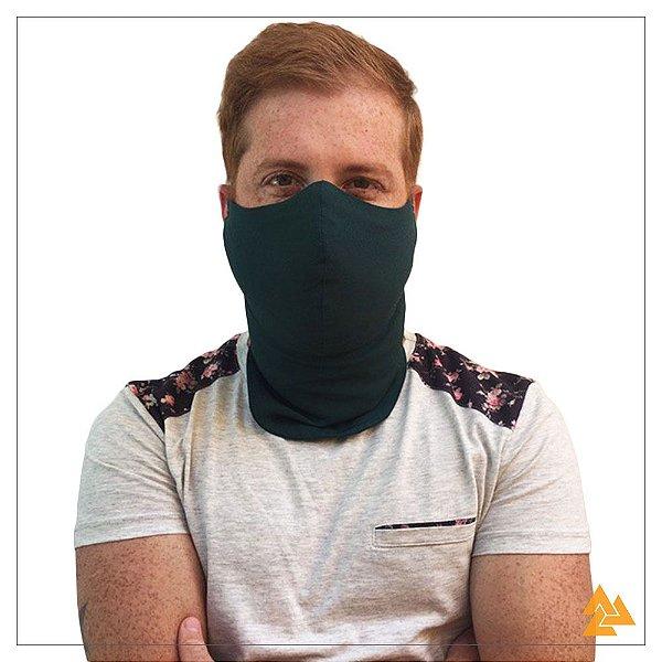 Máscara para Barbudos Verde Escuro