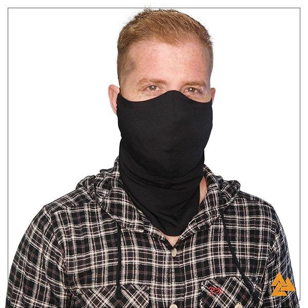 Máscara para Barbudos Preta Tam P 27 cm de comprimento