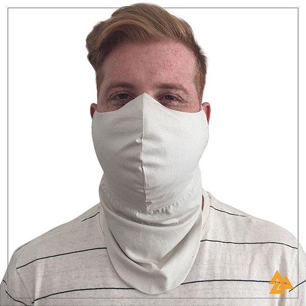 Máscara para Barbudos Estampa Poa Bege