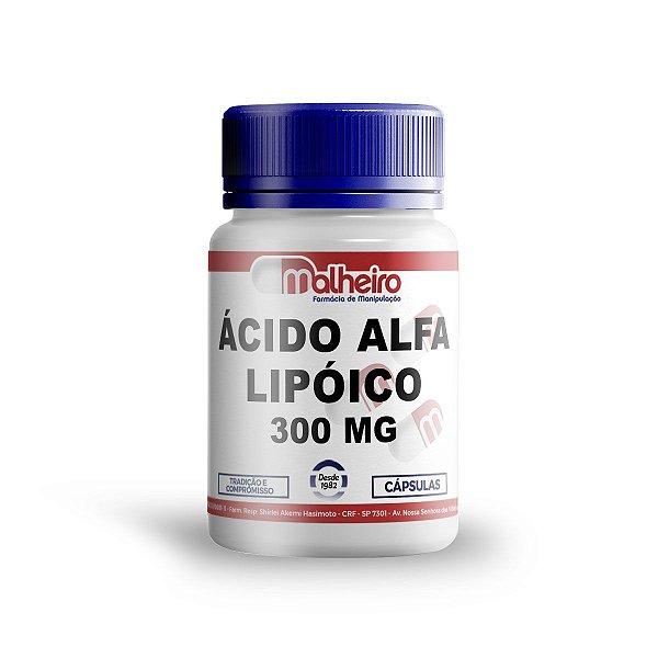 ÁCIDO ALFA LIPOÍCO 300 MG CÁPSULAS GASTRORRESISTENTE