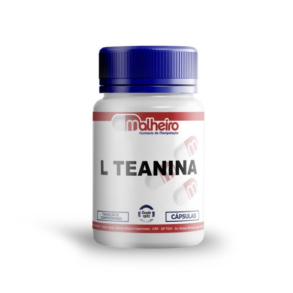L-TEANINA 200MG CÁPSULAS - L-THEANINE